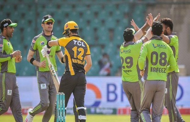 Lahore Qalandars beat Peshawar Zalmi