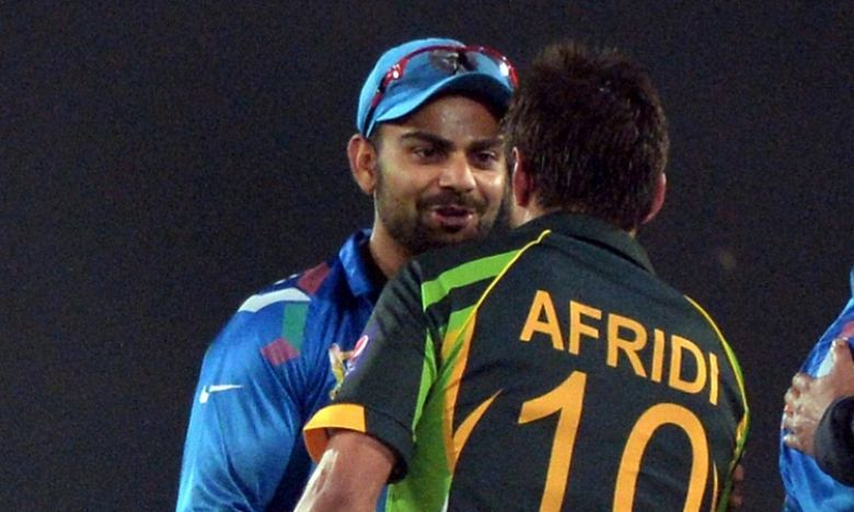 """Shahid Bhai, best wishes, always a pleasure playing against you"".: Verat Kohli"