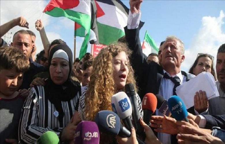 Israel imposes travel ban on Palestinian resistance icon Tamimi, family