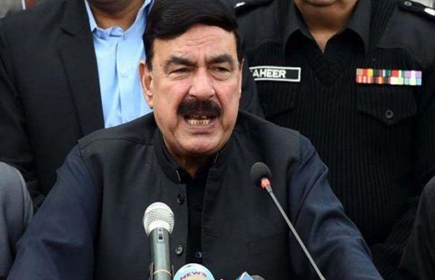 Federal interior minister Sheikh Rasheed Ahmad