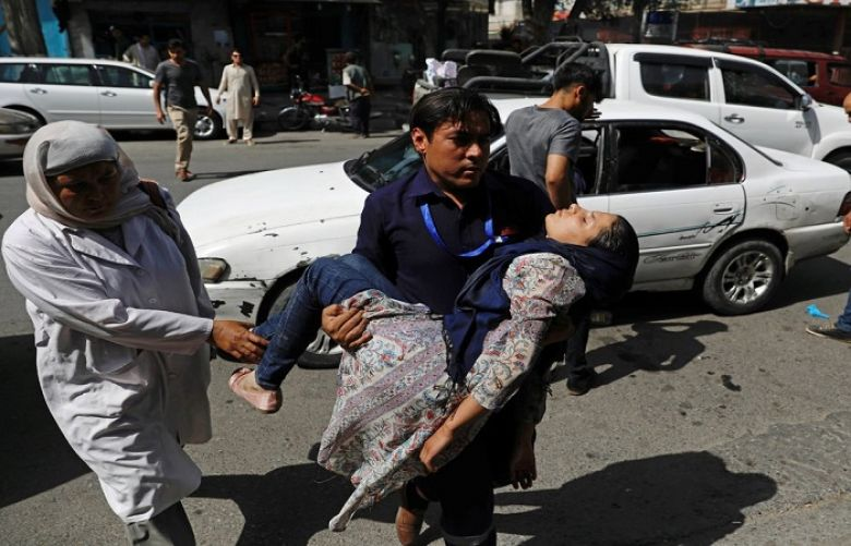 At least 18 people killed, over 100 others injured in Kabul Blast