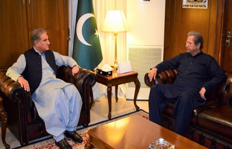 FM Qureshi , Education Minister discuss reforms in education sector