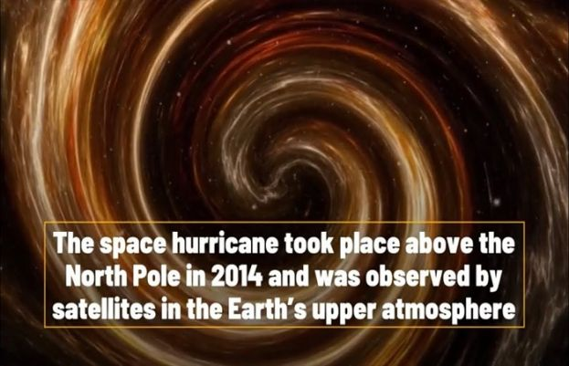 Researchers find first space tropical storm above Earth