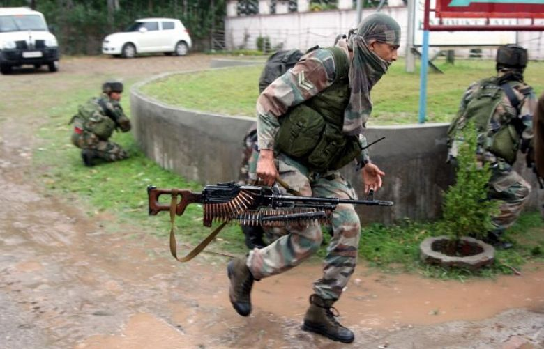 3 killed as suspected militants attack army camp in India-held Kashmir