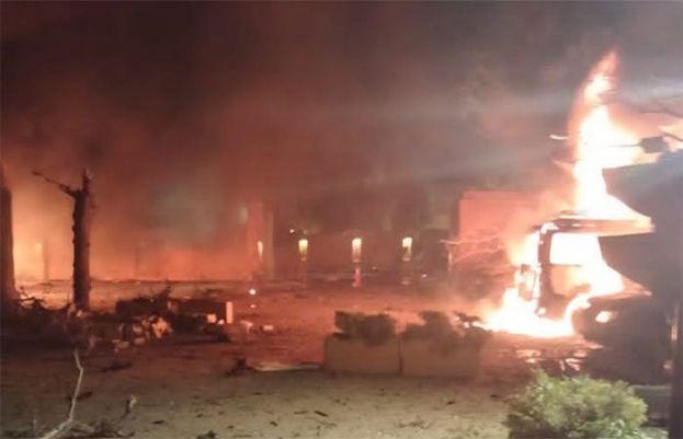 blast near Quetta's Serena Chowk