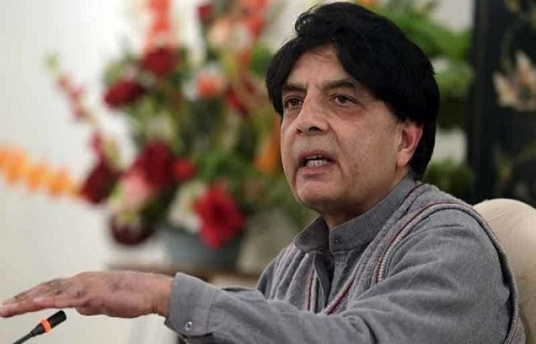 Former minister and ruling Pakistan Muslim League-Nawaz (PML-N) leader, Chaudhry Nisar Ali Khan,