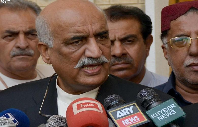Pakistan Peoples Party (PPP) leader Khursheed Shah
