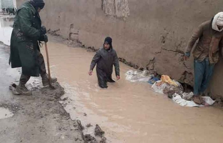 More than twenty people including two children, were killed in flash floods of Balochistan