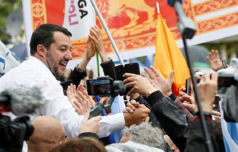 Italy's Salvini says government will not collapse after EU vote