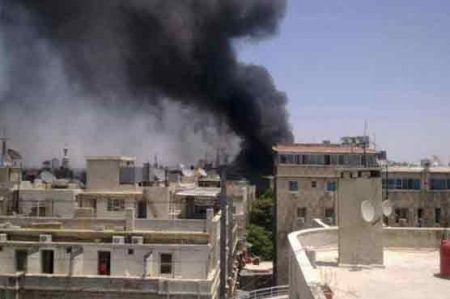 2 explosions rock Syrian capital