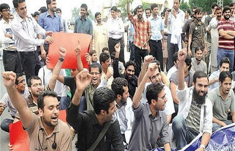 Protest of Young Doctors Association