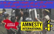 Modi govt is making attempts to repress rights of Kashmiri people: Amnesty International