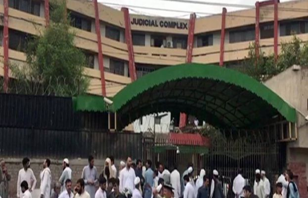 Shots fired in Peshawar Judicial Complex