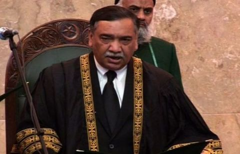 Chief Justice of Pakistan Asif Saeed Khosa