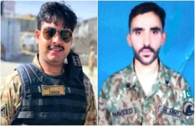 Two soldiers martyred as terrorists attack security forces in Waziristan: ISPR