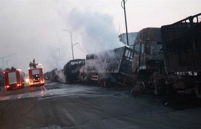 Blast kills 22 near China factory in Olympic city - SUCH TV