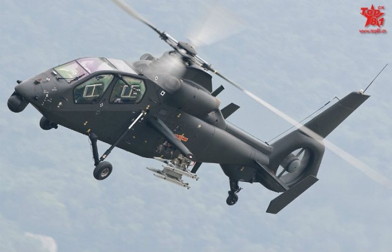 China unveils advanced Z-19E attack helicopter