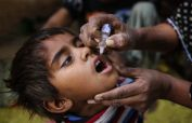 5 day nationwide polio vaccination campaign kicked off on Monday