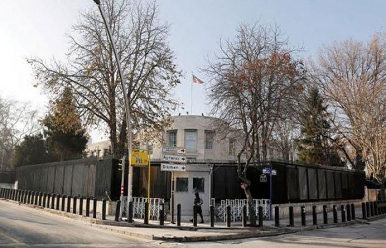 Shots fired at US embassy in Turkish capital, no casualties