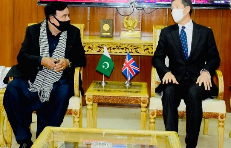 british high commission and interior minister