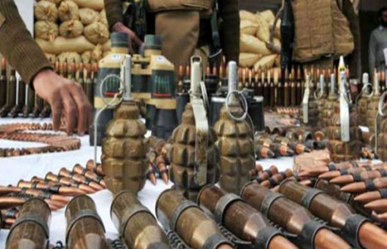 Op Radd-ul Fasaad: Security forces recover weapons in Balochistan's Kohlu