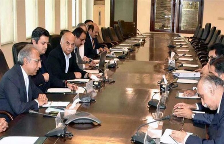 Dr. Abdul Hafeez Shaikh was chairing a meeting to review Budget proposals in Islamabad