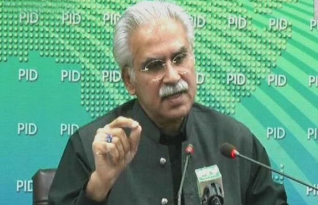 Special Assistant to the Prime Minister on Health, Dr Zafar Mirza