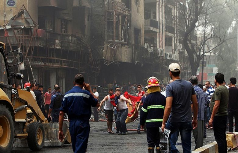 Nearly 40 Iraqis died, over 80 wounded in Baghdad bombings