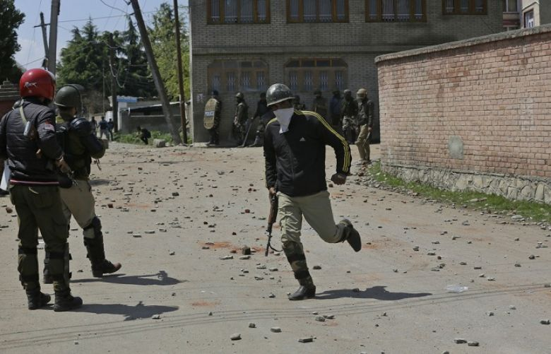 Indian troops martyr five youth in kashmir