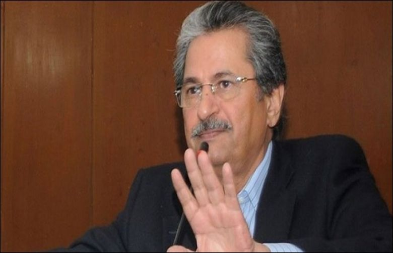 "Ed-Tech will be a core pillar of ""Pakistan Education Policy 2021"": Shafaqat Mehmood"