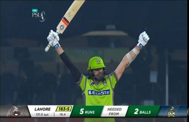 Lahore Qalandars defeat Peshawar Zalmi by 5 wickets