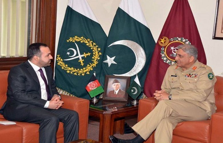 Afghan Ambassador, COAS discuss Matters of mutual interest