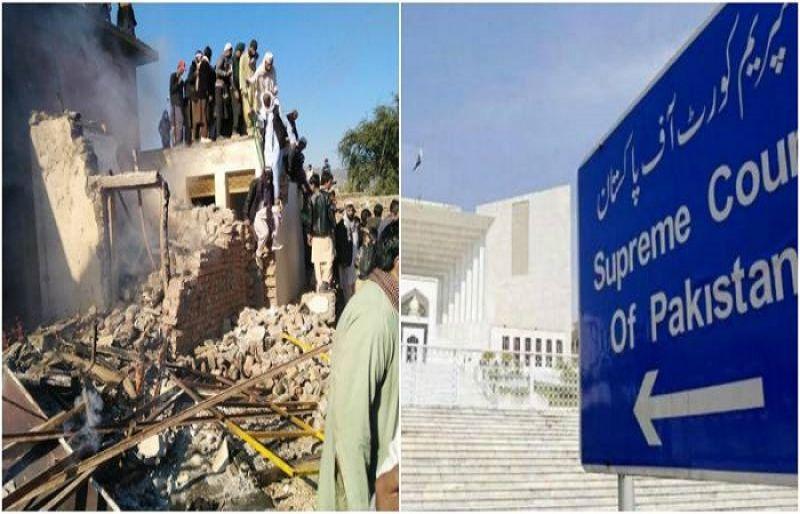 CJP takes notice of vandalism at Karak Hindu shrine – SUCH TV