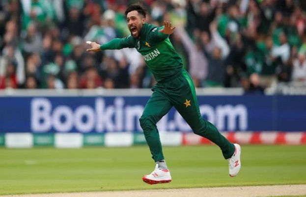 Pakistani pacer Mohammad Amir