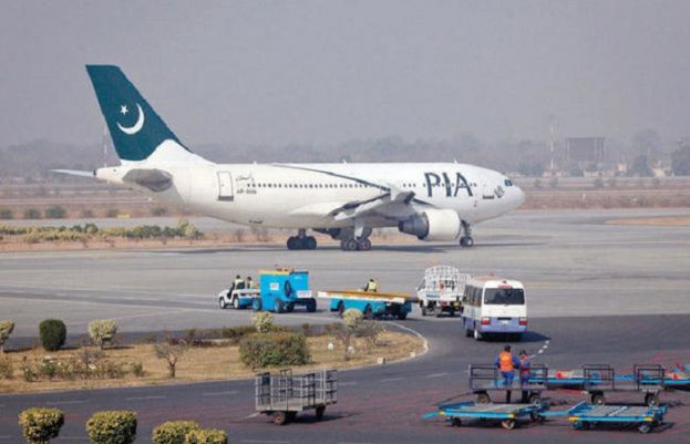PIA flights effect in Quetta due to heavy snow fall