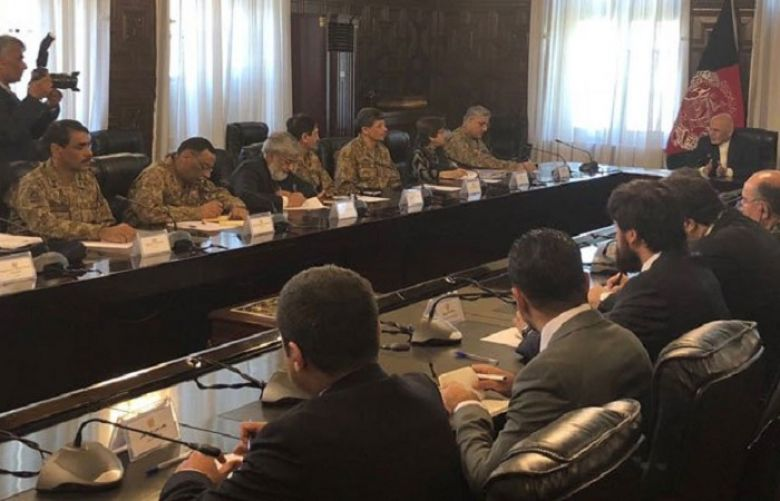 COAS meets Afghan president during Kabul visit