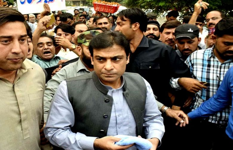Opposition leader in the Punjab Assembly Hamza Shehbaz