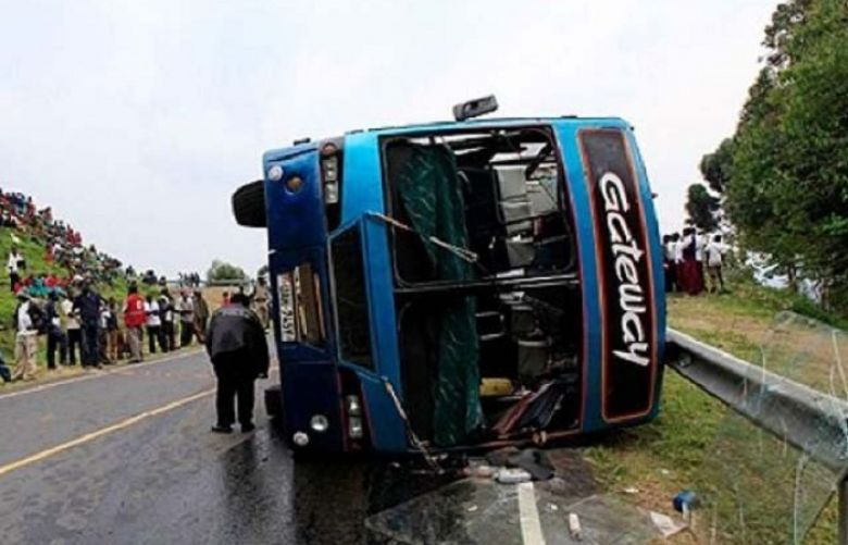 16 children among 48 killed in Uganda bus crash