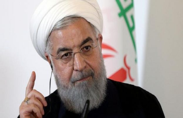 Iran's Rouhani says water dissenters have 'right' to illustrate