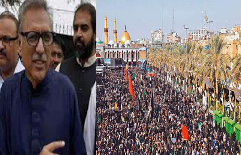 Youm-e-Ashur reminds of great sacrifices of martyrs of Karbala: President Alvi