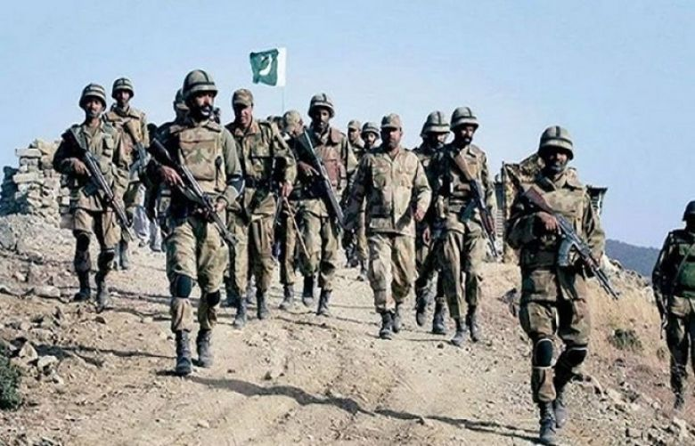 Seven FC soldiers martyred in two separate attacks in Balochistan