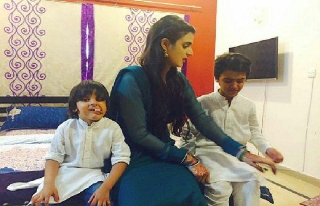 Hira Mani's adorable family photos are winning hearts