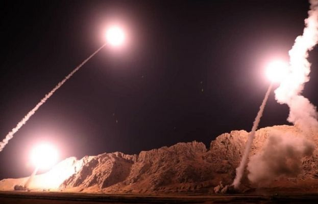 Iran missile strike; Tehran claims 80 dead in attack on US bases