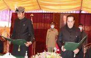 Khalid Khursheed sworn in as new chief minister Gilgit-Baltistan