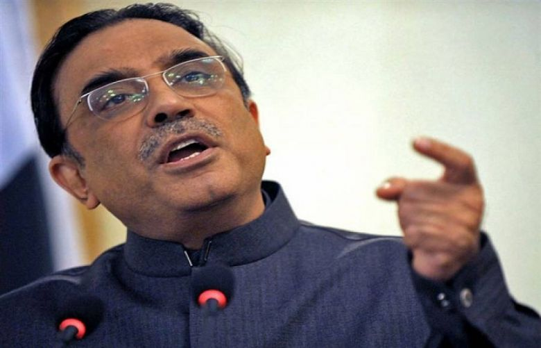Pakistan Peoples Party Co-chairperson Asif Ali Zardari