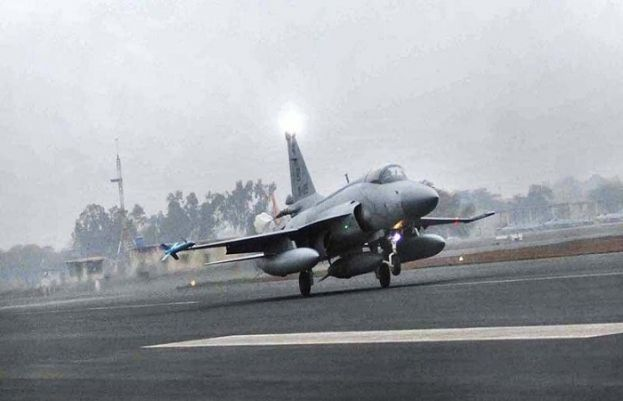 PAF fighter trainer aircraft crashes