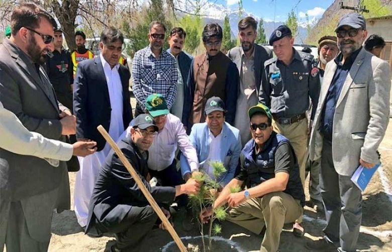 Two billion trees would be planted in Gilgit Baltistan