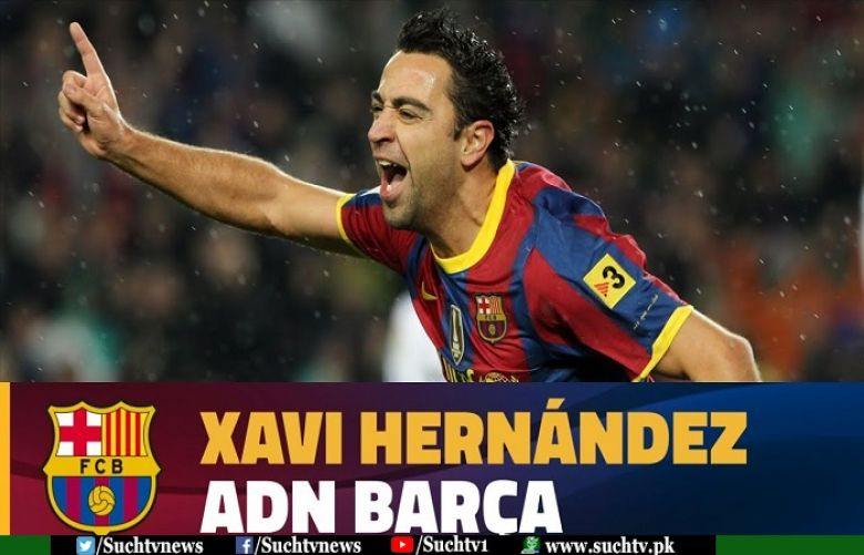 Barca great Xavi