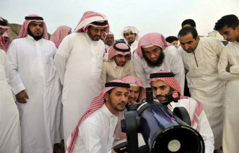 Image result for eid moon to be sighted in MIddle East today