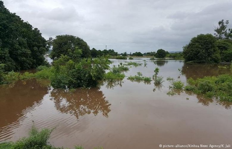 Hundreds have already been killed and crops devastated in floods across the region, as in this field here in Malawi.